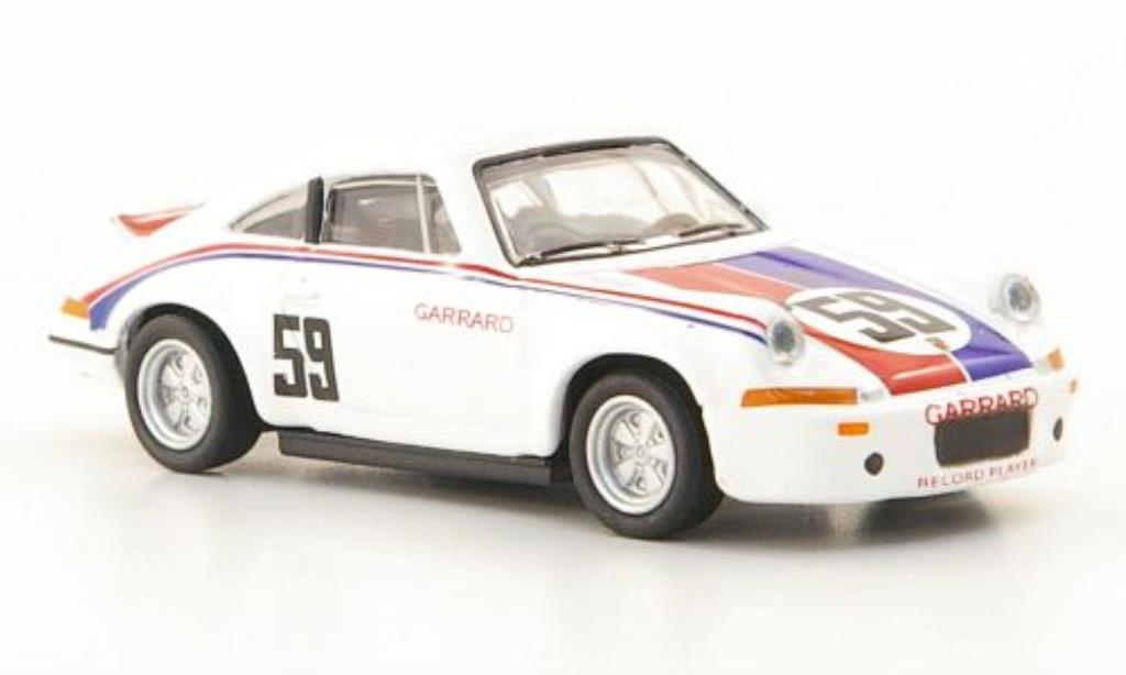 Porsche 911 RSR 1/87 Schuco No.59 Brumos miniature