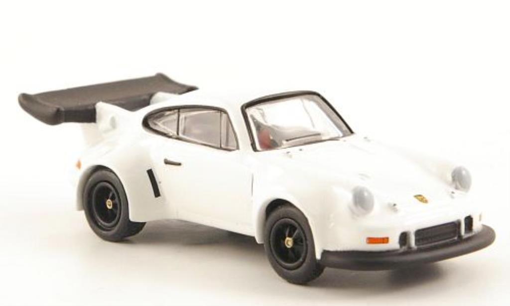Porsche 911 RSR 1/87 Bub Turbo blanche miniature