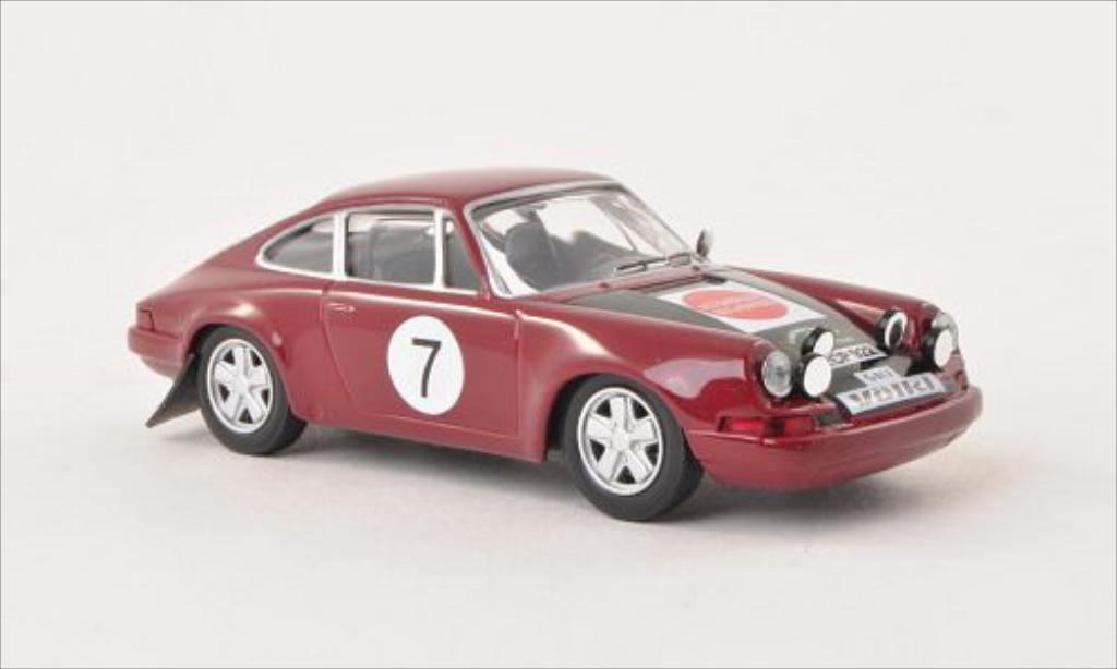 Porsche 911 S 1/43 IXO No.7 Rallye Bavaria 1970 diecast model cars