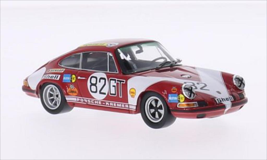 Porsche 911 S 1/43 Minichamps No.82 Kremer Racing ADAC 1000KM Nurburgring 1971 /J.Neuhaus miniature