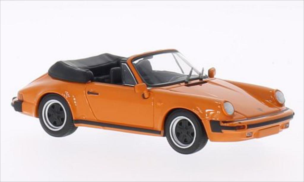Porsche 930 SC 1/43 Minichamps orange 1983 miniature
