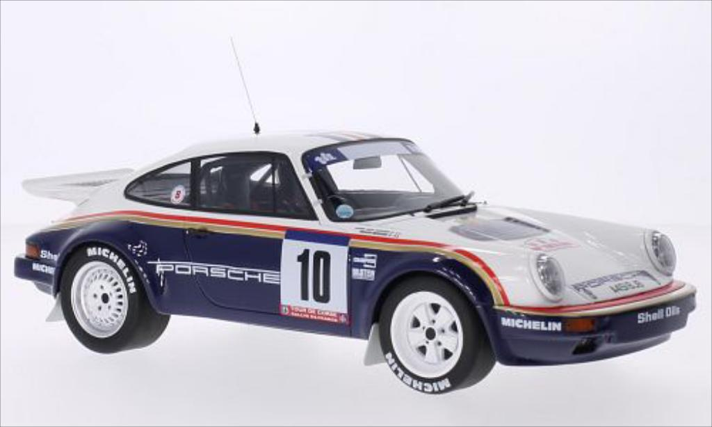 Porsche 930 SC 1/18 Ottomobile SC No.10 rougehmans Tour de Corse 1985 miniature