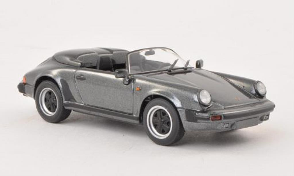 Porsche 930 Speedster 1/43 Minichamps anthrazit 1988 miniature