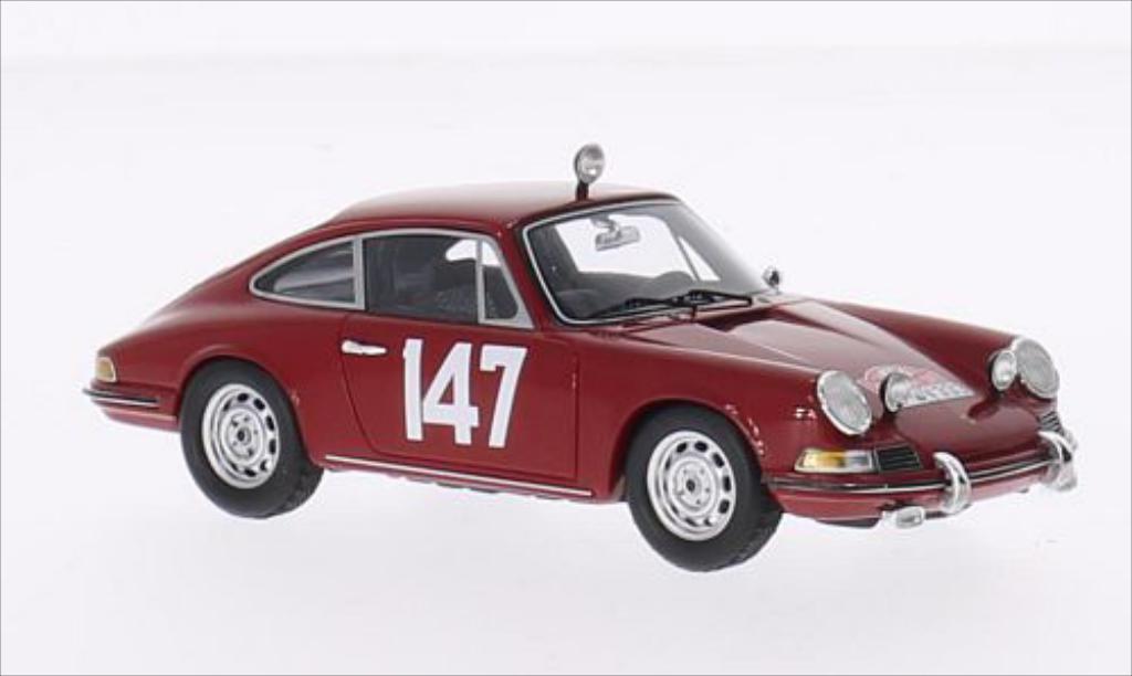 Porsche 911 1/43 Spark T No.147 Rallye Monte-Carlo 1965 /P.Falk miniature
