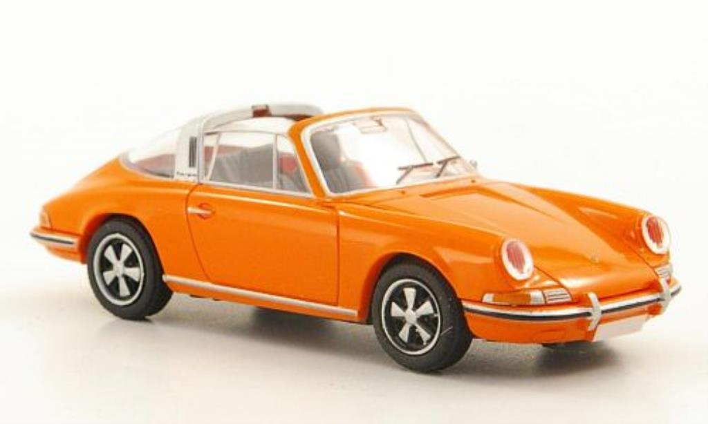 Porsche 911 Targa 1/87 Brekina (F-Reihe) orange diecast model cars