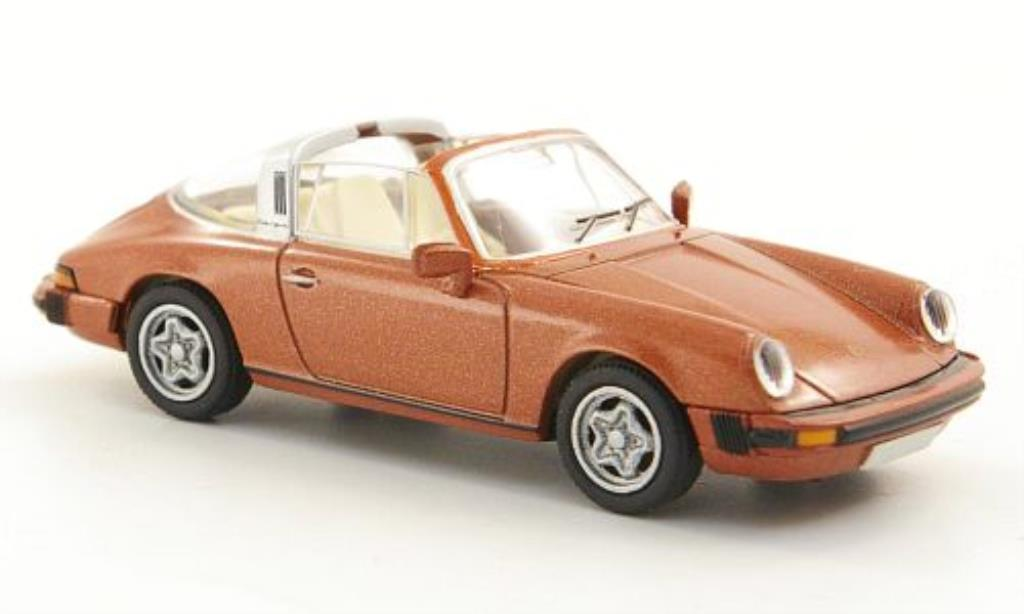 Porsche 911 Targa 1/87 Brekina (G-Reihe) kupfer diecast model cars