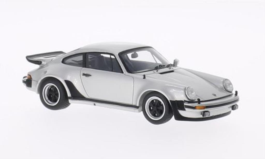 Porsche 930 Turbo 1/43 Spark 3.0 grise 1975 miniature