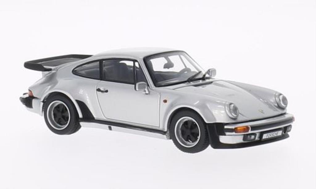 Porsche 930 Turbo 1/43 Kyosho 3.3 grise 1988 miniature