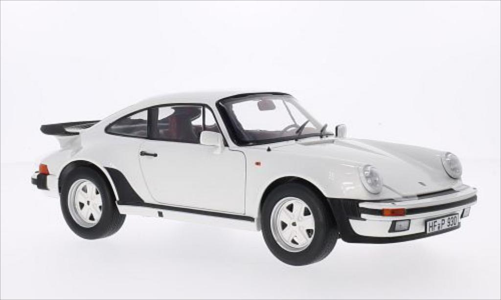 Porsche 930 Turbo 1/18 Norev 33 blanche 1977 miniature