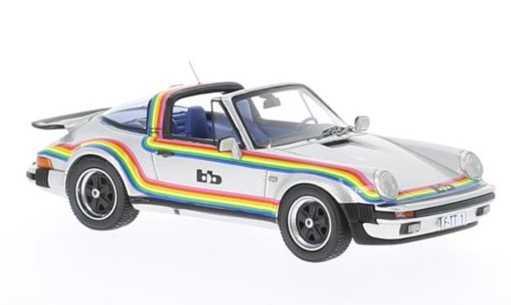 Porsche 930 Turbo 1/43 Neo Targa B&B Tuning grise mit Dekor 1982 miniature