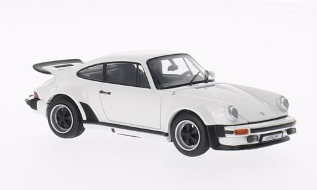 Porsche 930 Turbo 1/43 Kyosho white 1975 diecast model cars