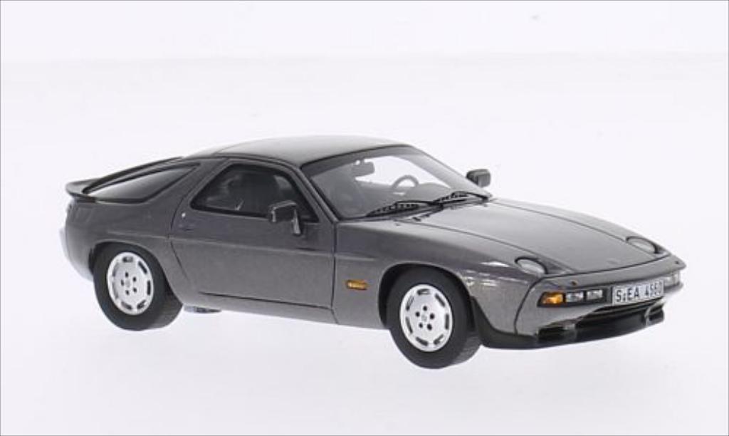 Porsche 928 1/43 Spark S metallic-gray 1980 diecast