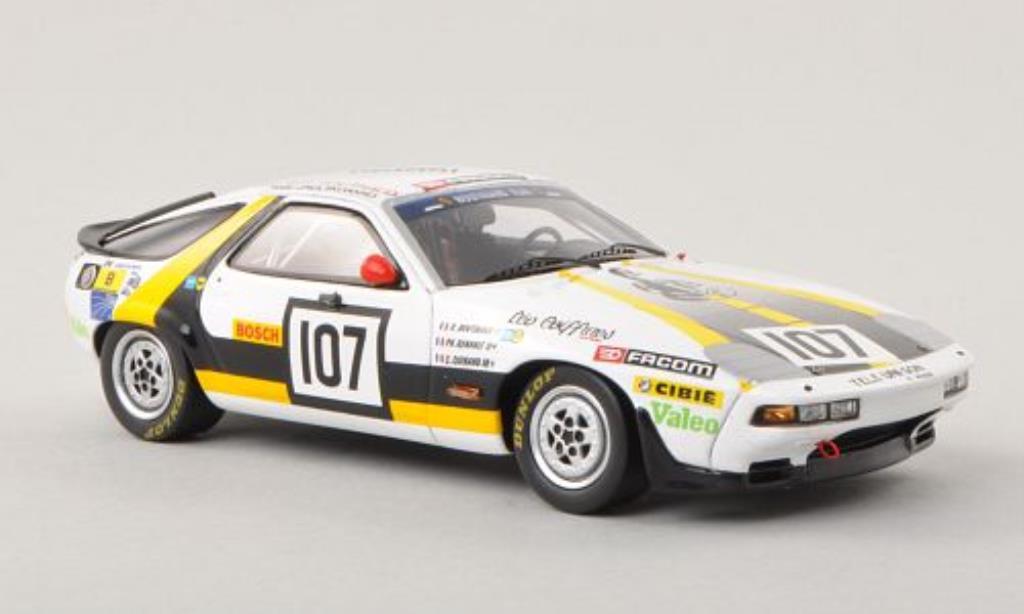 Porsche 928 1/43 Spark S No.107 Team Boutinaud 24h Le Mans 1984 /G.Guinand miniatura
