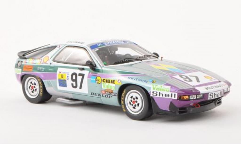 Porsche 928 1/43 Spark S No.97 Team Boutinaud 24h Le Mans 1983 /A.Le miniatura
