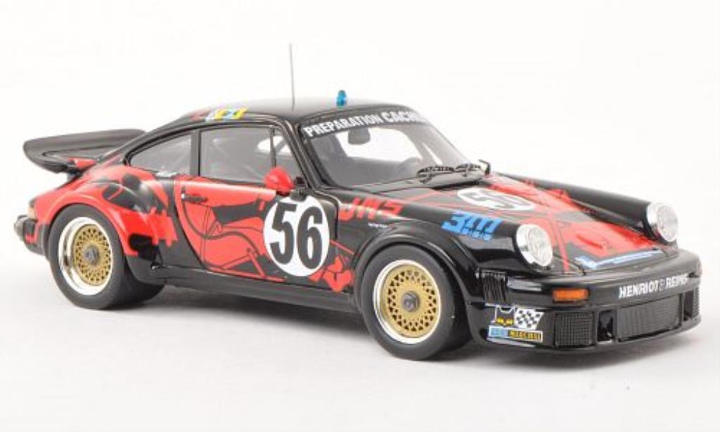 Porsche 934 1/43 Spark No.56 3M 24h Le Mans 1977 miniatura