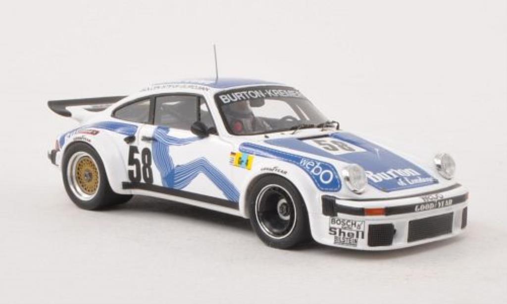 Porsche 934 1977 1/43 Spark No.58 Burton-Kremer 24h Le Mans /P.Gurdjian miniature
