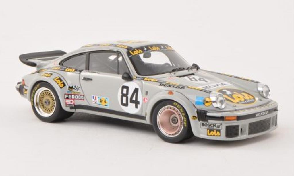 Porsche 934 1/43 Spark No.84 24h Le Mans 1979 miniatura