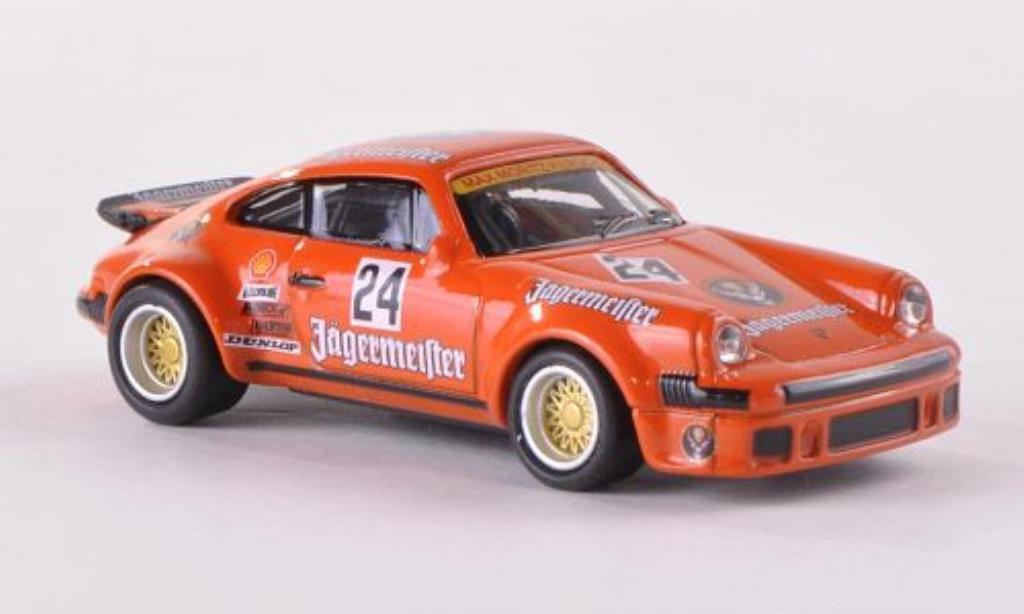 Porsche 934 1/87 Schuco R No.24 Jagermeister miniatura