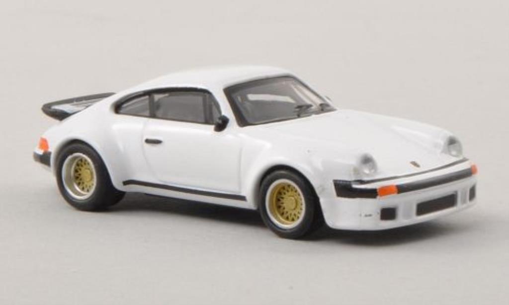 Porsche 934 1/87 Schuco R blanche miniature