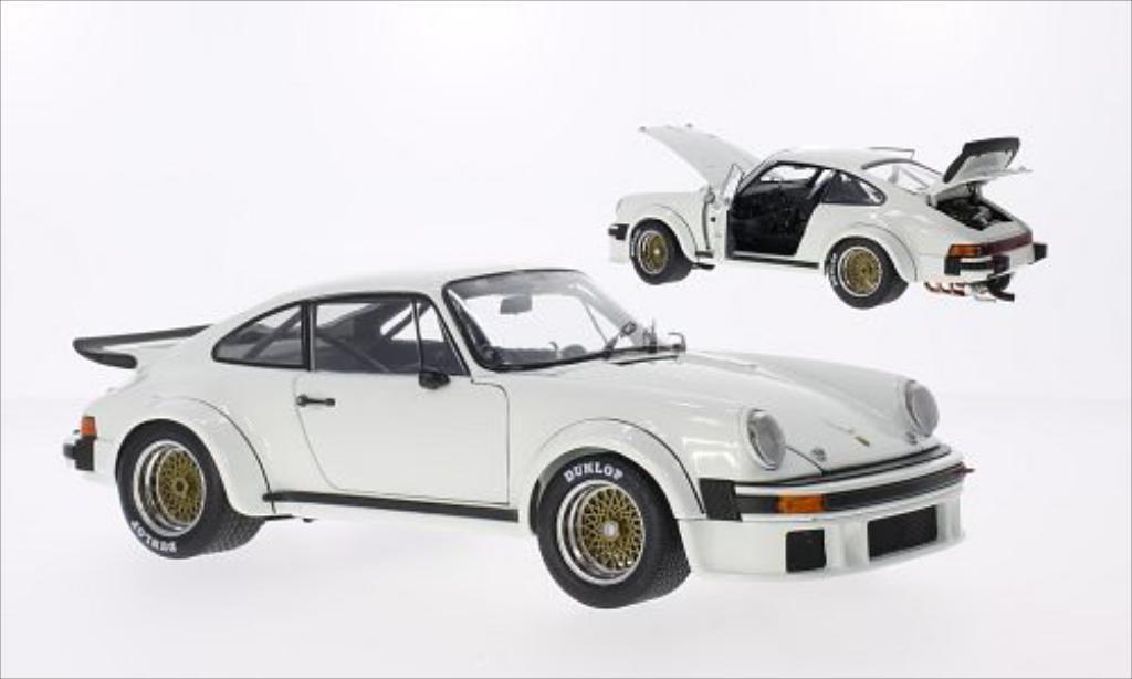 Porsche 934 1/18 Schuco R blanche miniature
