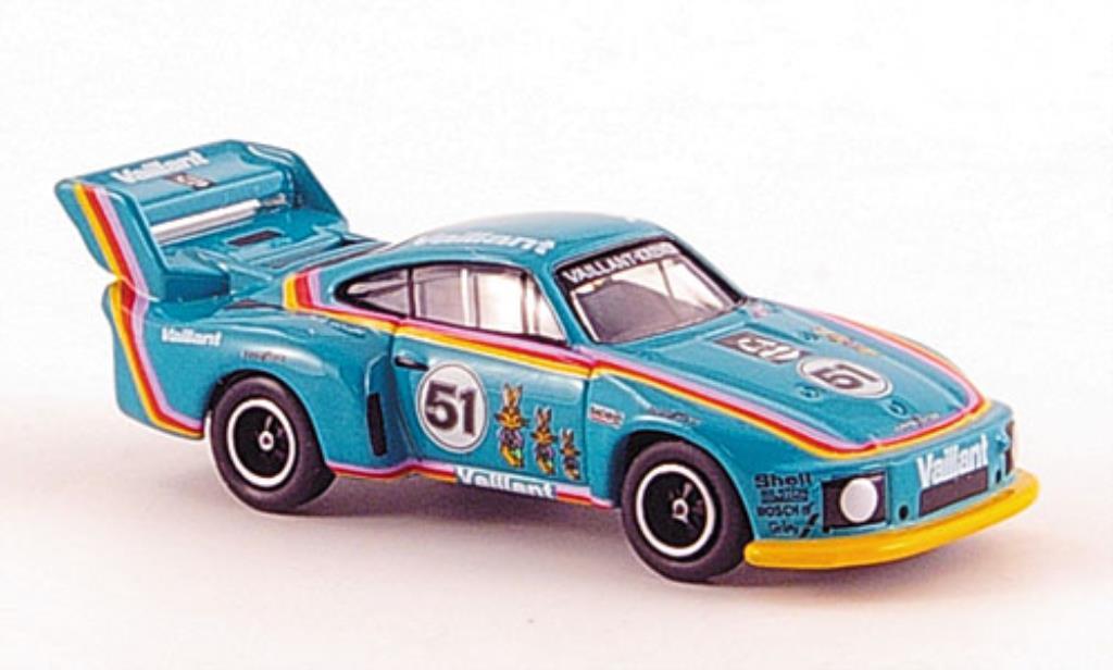 Porsche 935 1/87 Bub Flatnose No.51 Vaillant diecast model cars