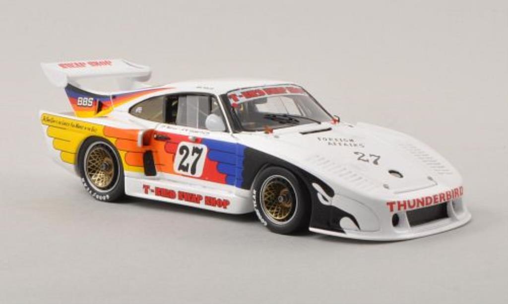Porsche 935 1/43 Spark K3 No.27 T-Bird Swap Shop 1000km Nurburgring 1981 /A.N diecast