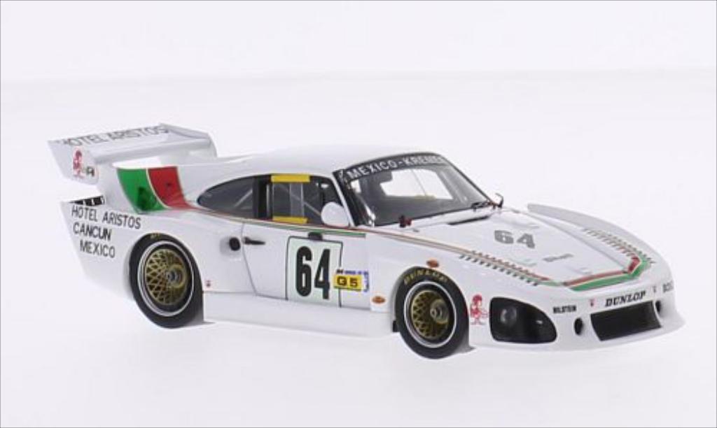 Porsche 935 1/43 Spark K3 No.64 Kremer Racing Hotel Aristos 24h Le Mans 1982 /A.Contreras diecast model cars