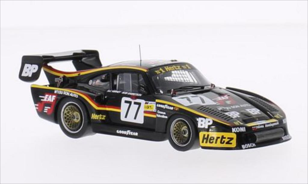 Porsche 935 1/43 Spark K3 No.77 BP 24h Le Mans 1982 diecast model cars