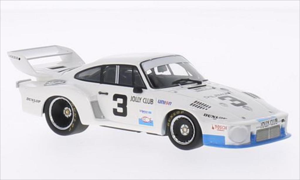 Porsche 935 1977 1/43 Minichamps No.3 Jolly Club 24h Daytona /R.Camathias coche miniatura