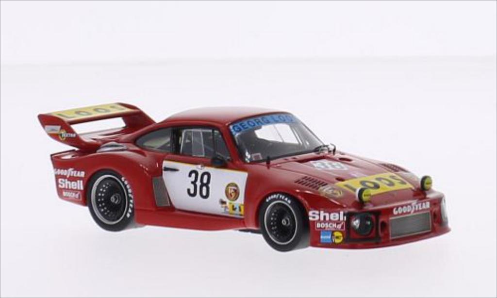 Porsche 935 1977 1/43 Spark No.38 Gelo Racing Team Loos 24h Le Mans /H.Heyer diecast model cars