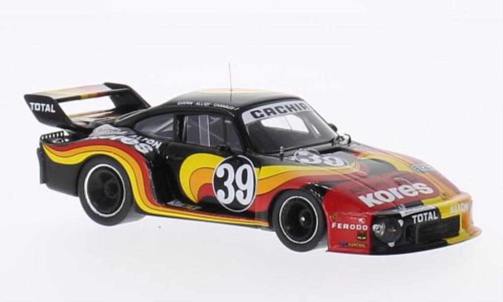 Porsche 935 1979 1/43 Spark No.39 Kores 24h Le Mans /J.Guerin miniature