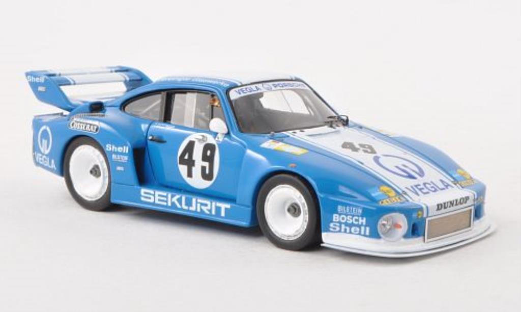 Porsche 935 1980 1/43 Spark No.49 Vegla 24h Le Mans /G.von miniature