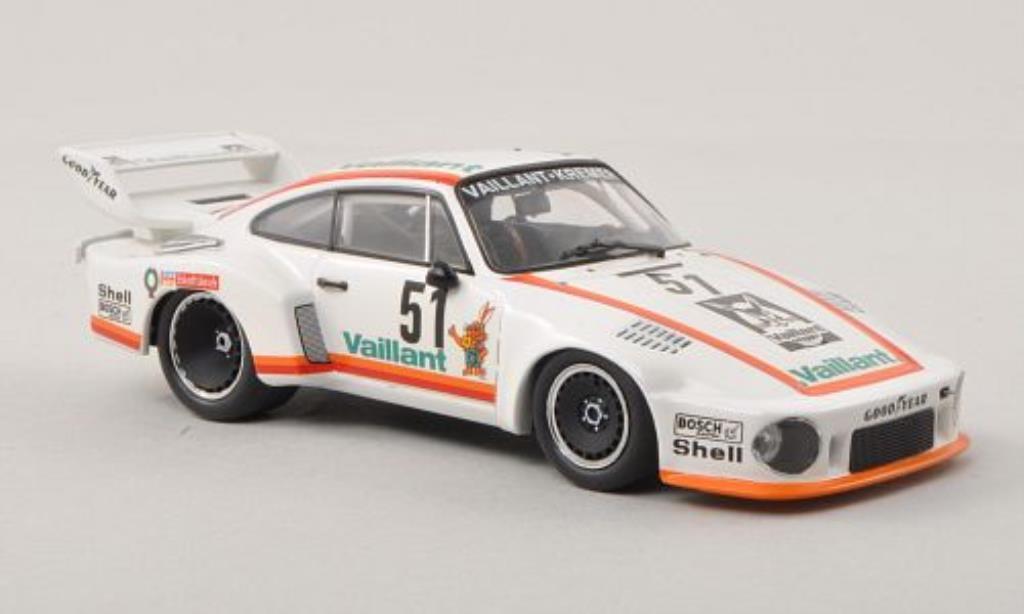 Porsche 935 1977 1/43 Minichamps No.51 Vaillant DRM Zolder diecast model cars