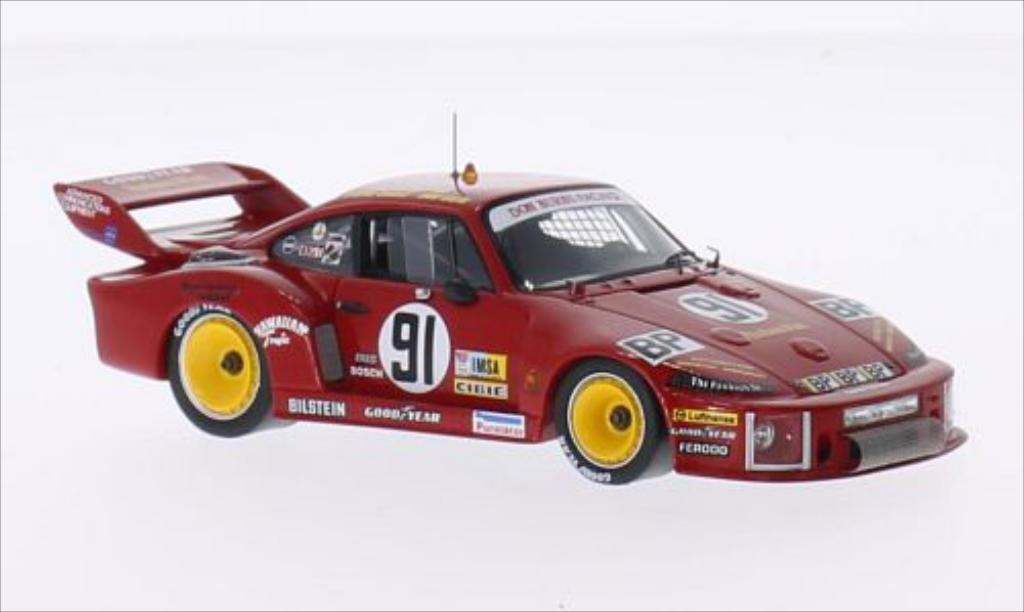 Porsche 935 1/43 Spark No.91 Don Burns Racing IMSA 24h Le Mans 1978 /B.Akin miniature