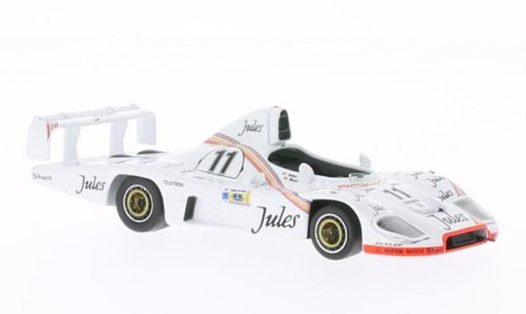 Porsche 936 1/43 IXO No.11 Jules 24h Le Mans 1981 /D.Bell miniature