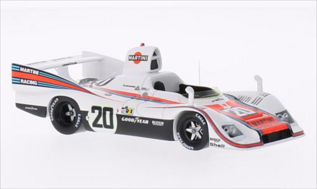 Porsche 936 1976 1/43 Spark No.20 Martini 24h Le Mans /G.van miniature