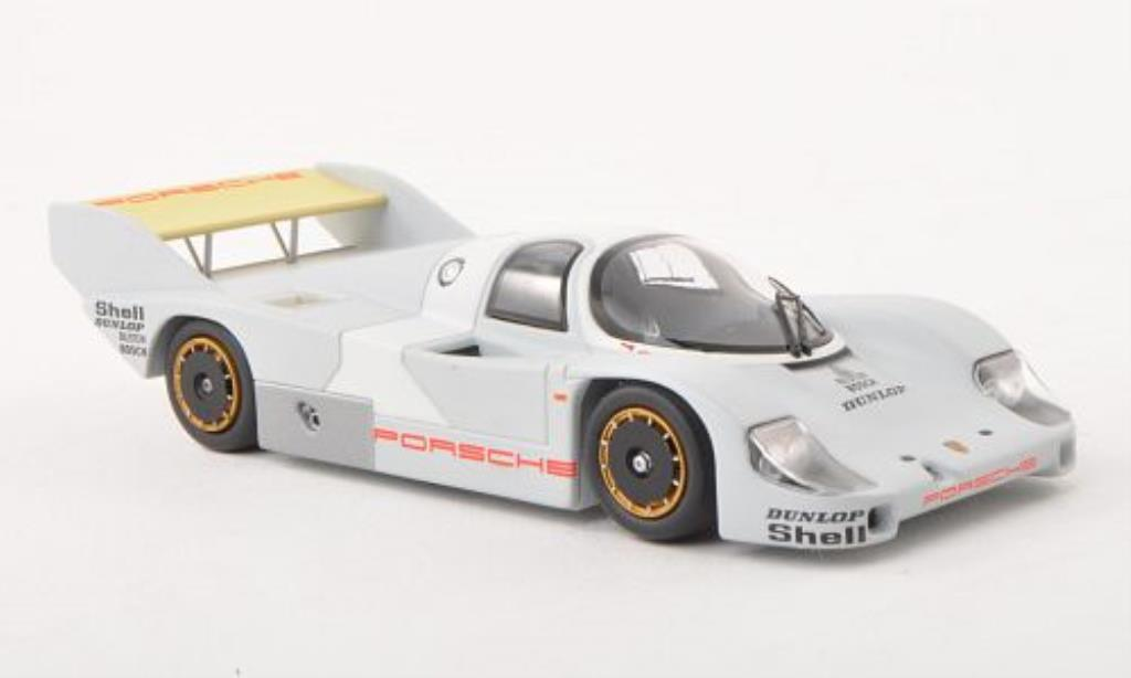 Porsche 956 1982 1/43 Minichamps K Rollout-Version diecast model cars