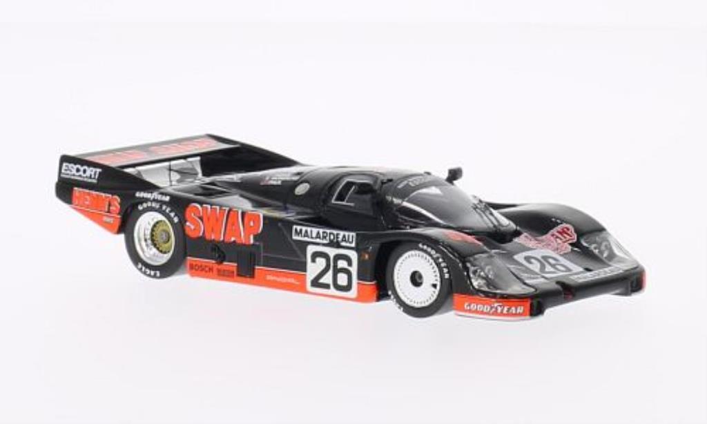 Porsche 956 1984 1/43 Spark No.26 Swap Shop 24h Le Mans /J.Paul miniature