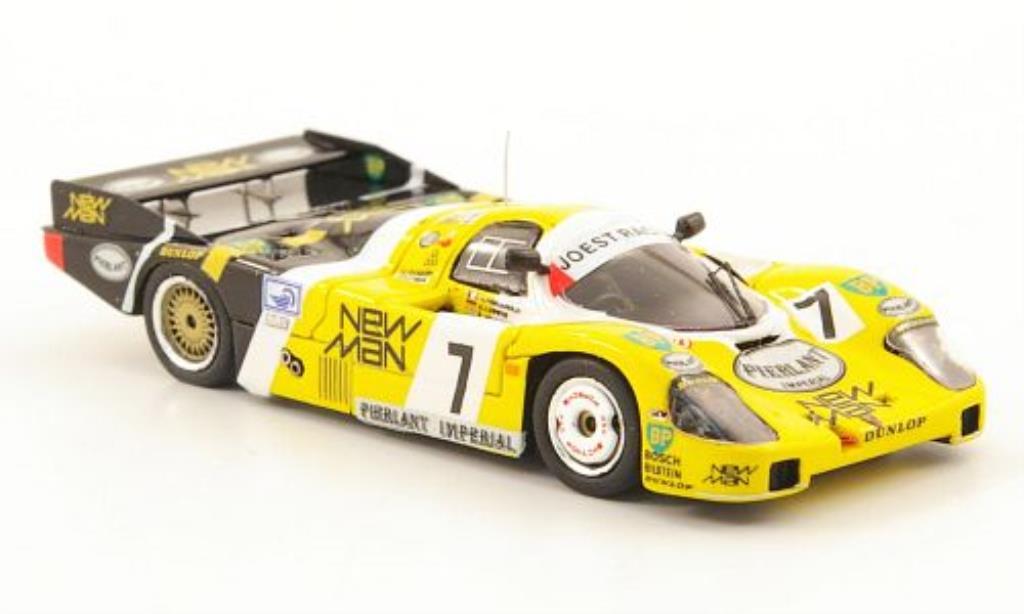 Porsche 956 1984 1/87 Spark No.7 NewMan 24h Le Mans / K.Ludwig miniature