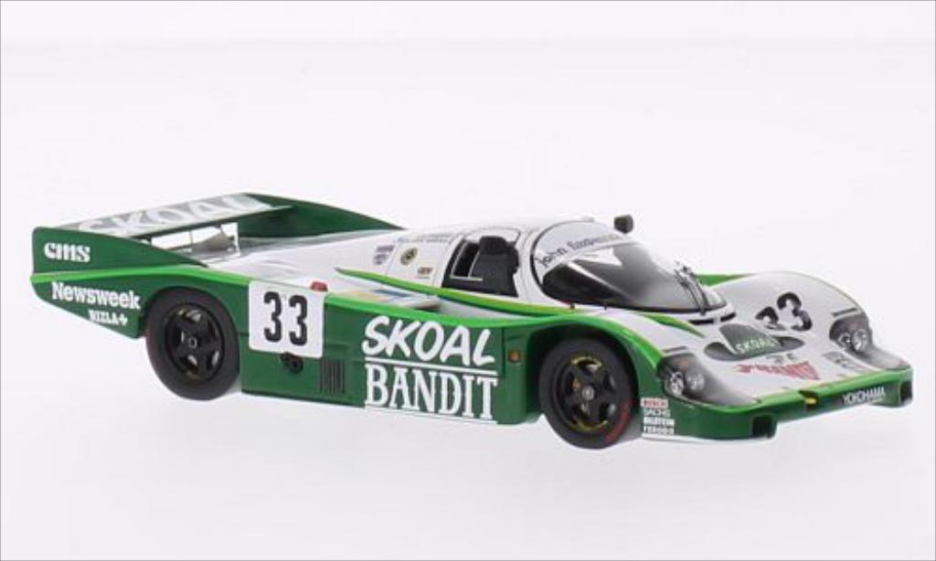 Porsche 956 1984 1/43 Spark RHD No.33 John Fitzpatrick Racing Skoal Bandit 24h Le Mans /S.van miniature