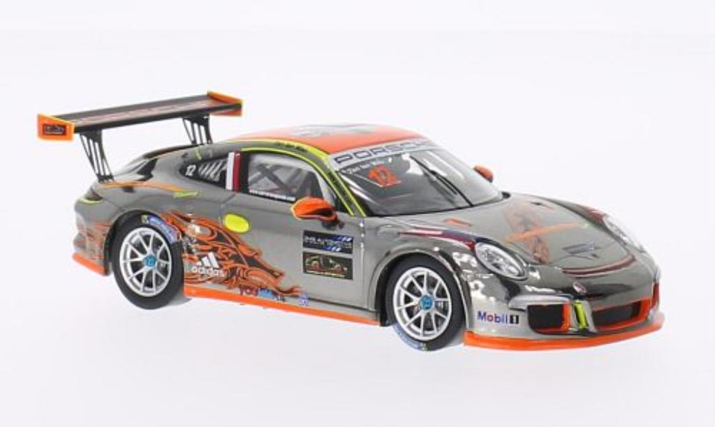 Porsche 991 GT3 Cup 1/43 Spark No.12 Clearwater PCCA 2014 diecast model cars