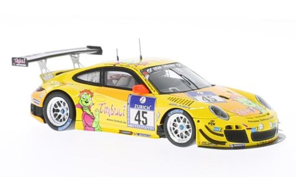 Porsche 997 GT3 1/43 Spark R No.45 Timbuli 24h Nurburgring 2013 /M.Hennerici diecast model cars