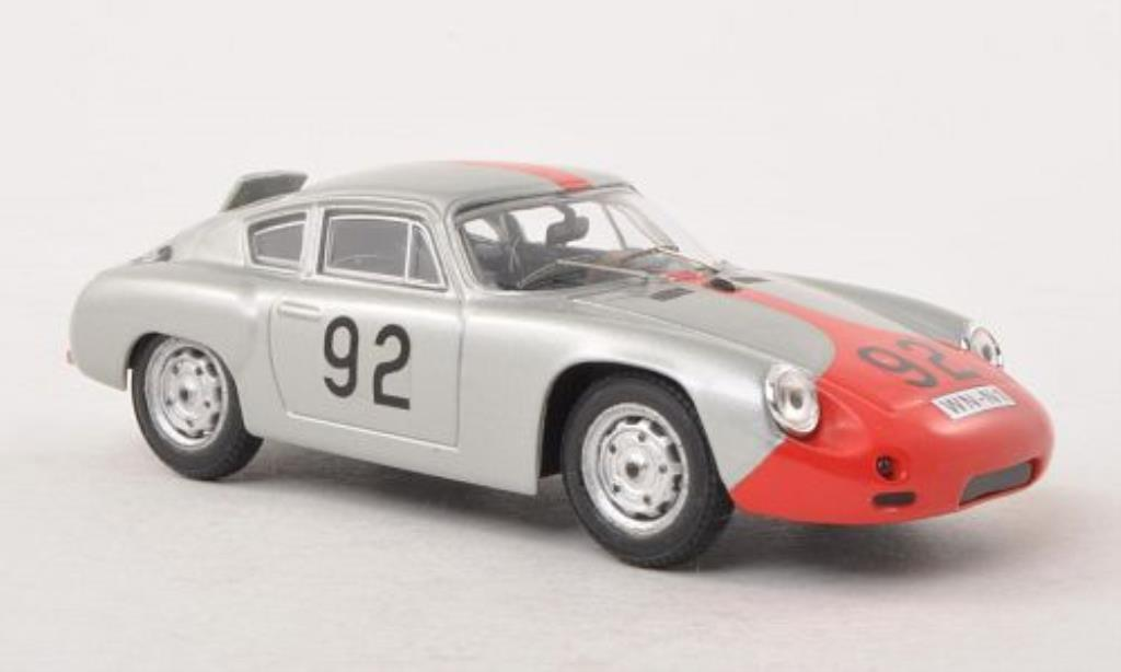 Porsche Abarth 1/43 Best No.92 Targa Florio 1961 /Pucci miniatura