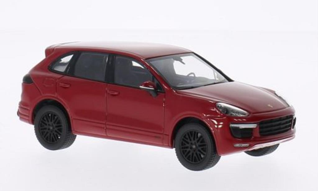 Porsche Cayenne GTS 1/43 Minichamps red 2014 diecast model cars
