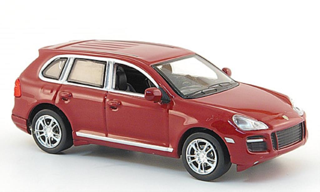 Porsche Cayenne GTS 1/64 Minichamps red 2007 diecast model cars