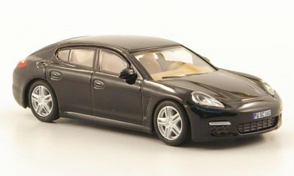 Porsche Panamera S 1/87 Schuco noire miniature