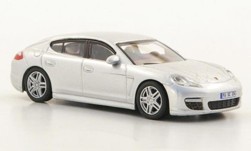 Porsche Panamera 1/87 Schuco grise miniature