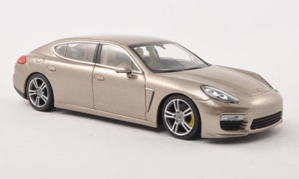 Porsche Panamera 1/43 Minichamps Turbo S Executive beige 2013