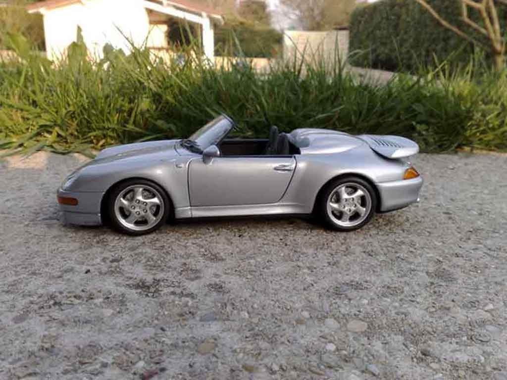 Porsche 993 Turbo 1/18 Ut Models Speedster biturbo jurinek miniature