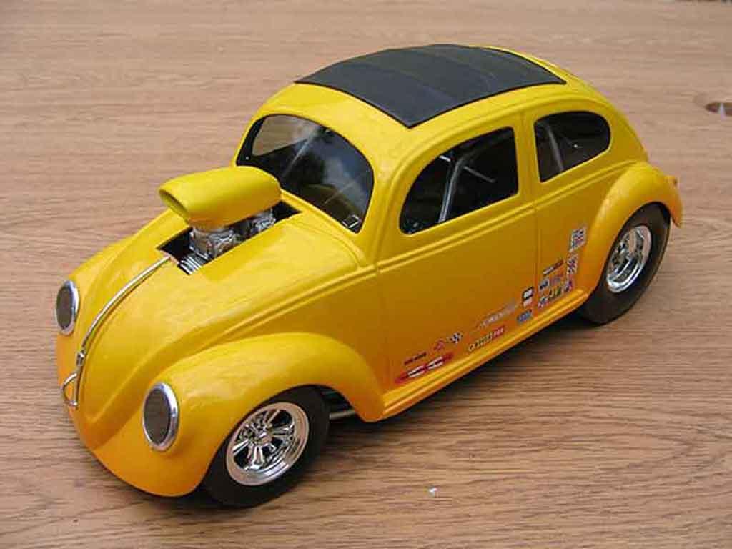 Volkswagen Kafer Drag Run 1/18 Burago pro street cox diecast model cars